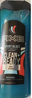 AXE Clean + Ready with Oxygen 2 in 1 Hair Body Wash