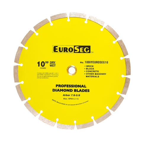 Euro Segmented Diamond Blade