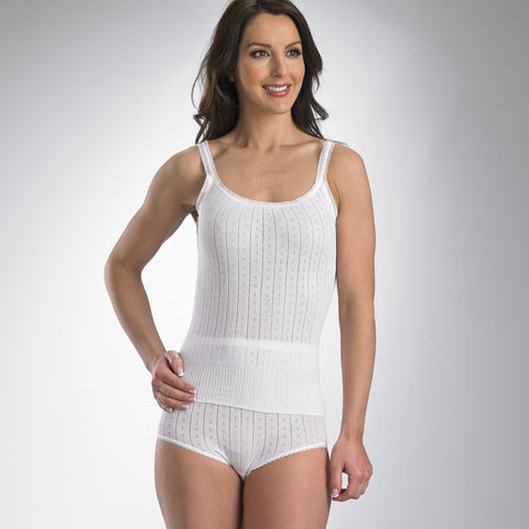 Cotton French Neck Camisole