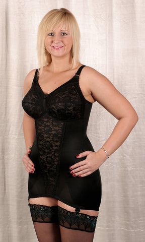 Open Corselette (Black)