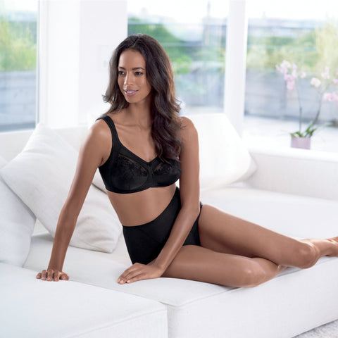 Safina Mastectomy Bra (Black)