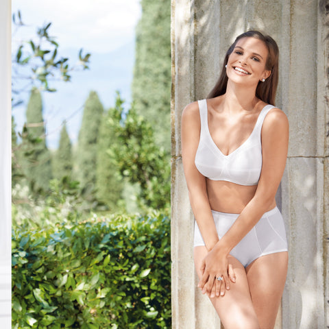 Jana Comfort Support Bra (White)