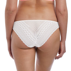 Daisy Lace Brief From Freya in White Back