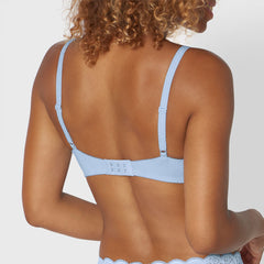 Triumph Amourette 300 W Bra in Light Blue back