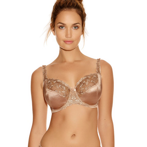 Belle Underwired Balcony Bra - Bamboo