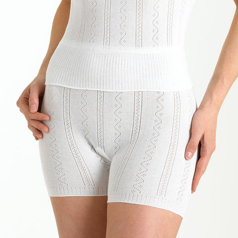 Fancy Knit Thermal Pantee