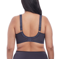 Cate Full Cup Banded Bra From Elomi in Anthracite Back