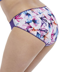 Morgan Brief from Elomi in Purple Lily Side