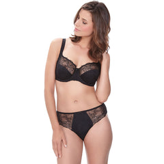 New Estelle Side Support Bra & Brief in Black
