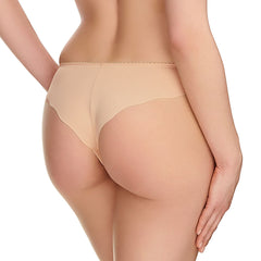 New Estelle Brazilian Thong in Sand Back