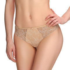 New Estelle Brazilian Thong in Sand