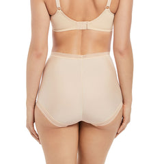 Fusion High Waist Brief from Fantasie in Sand Back