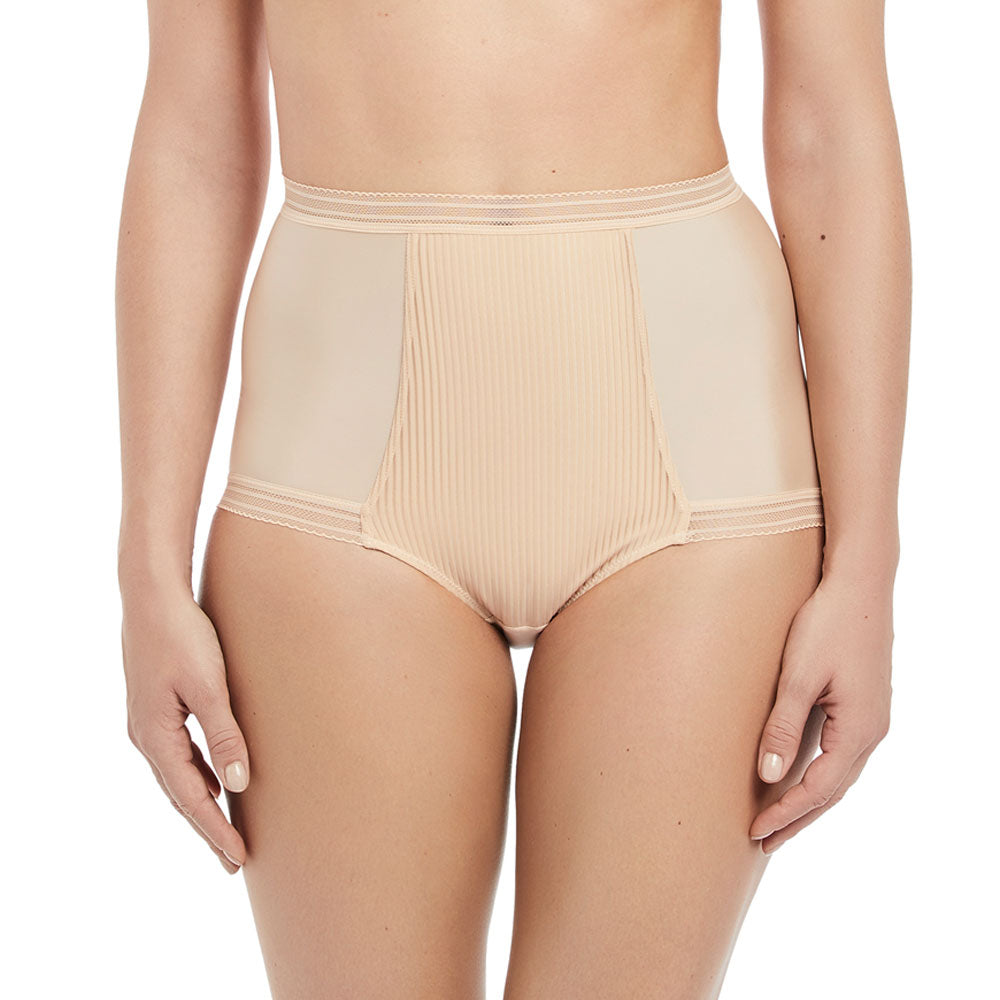 Fusion High Waist Brief from Fantasie in Sand