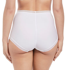 Fusion High Waist Brief from Fantasie in White back
