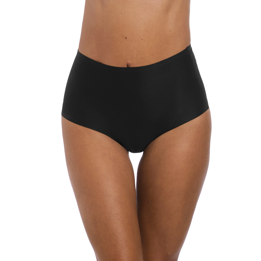 Smoothease Full Brief from Fantasie Lingerie Black