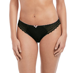 Daisy Lace Brief From Freya in Black Front