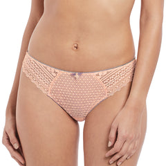 Daisy Lace Brief From Freya in Blush Front