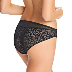 Soiree Lace Brief Black Back