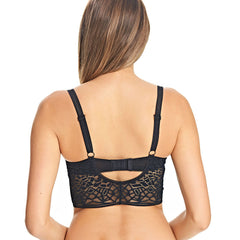 Soiree Lace Bralette in Black Back