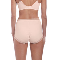Fusion High Waist Brief from Fantasie in Blush Back
