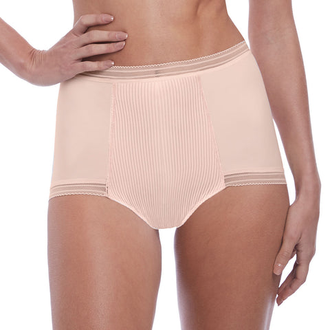 Fusion High Waist Brief in Blush