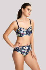 Florentine Midi Brief in Navy Floral