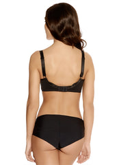 Idol Moulded Balcony Bra Black Back