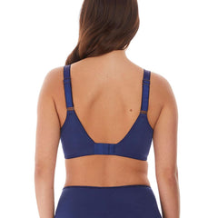 Illusion Full Cup Side Support Bra from Fantasie in Navy Back