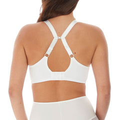 Impression Underwired Moulded Bra From Fantasie in White Racerback