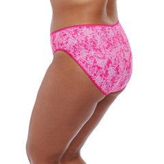 Kim Brief in Pink from Elomi Lingerie Side