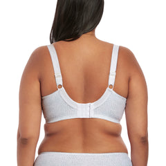Elomi Morgan Full Cup Banded Bra in White Back