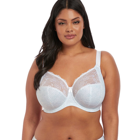 Morgan Full Cup Banded Bra in White
