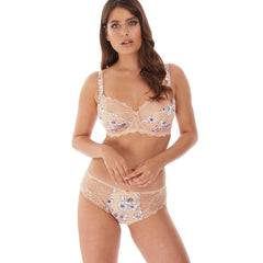 Olivia Underwired Side Support Bra And Brief From Fantasie in Natural Beige