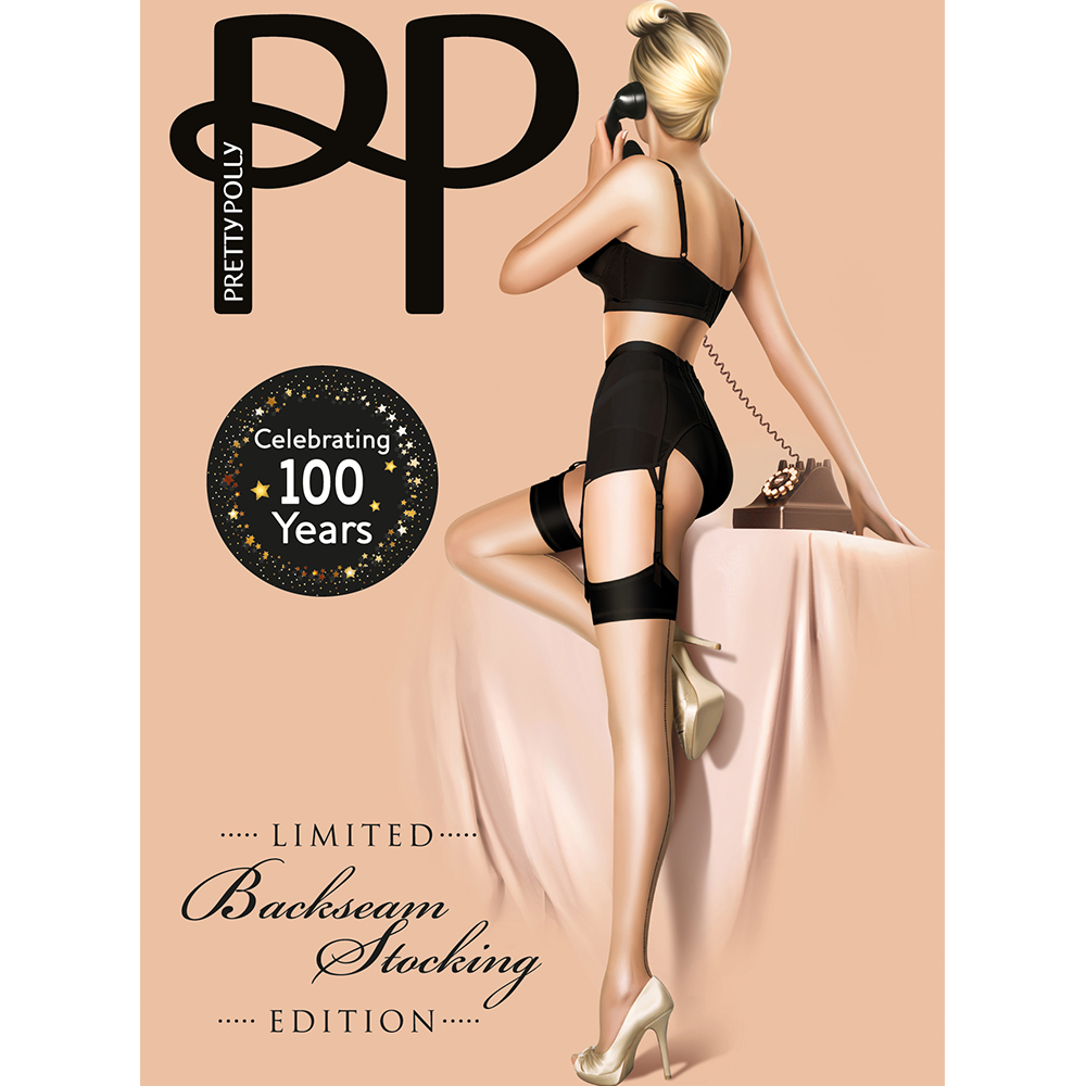 Pretty Polly Limited Edition Backseam Stockings