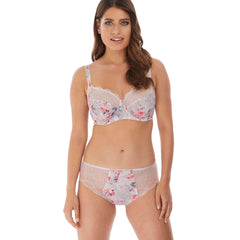 Sophie Brief and Side Support Bra from Fantasie in Silver