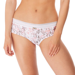 Viva Hipster Short From Freya in Coral Snake Front