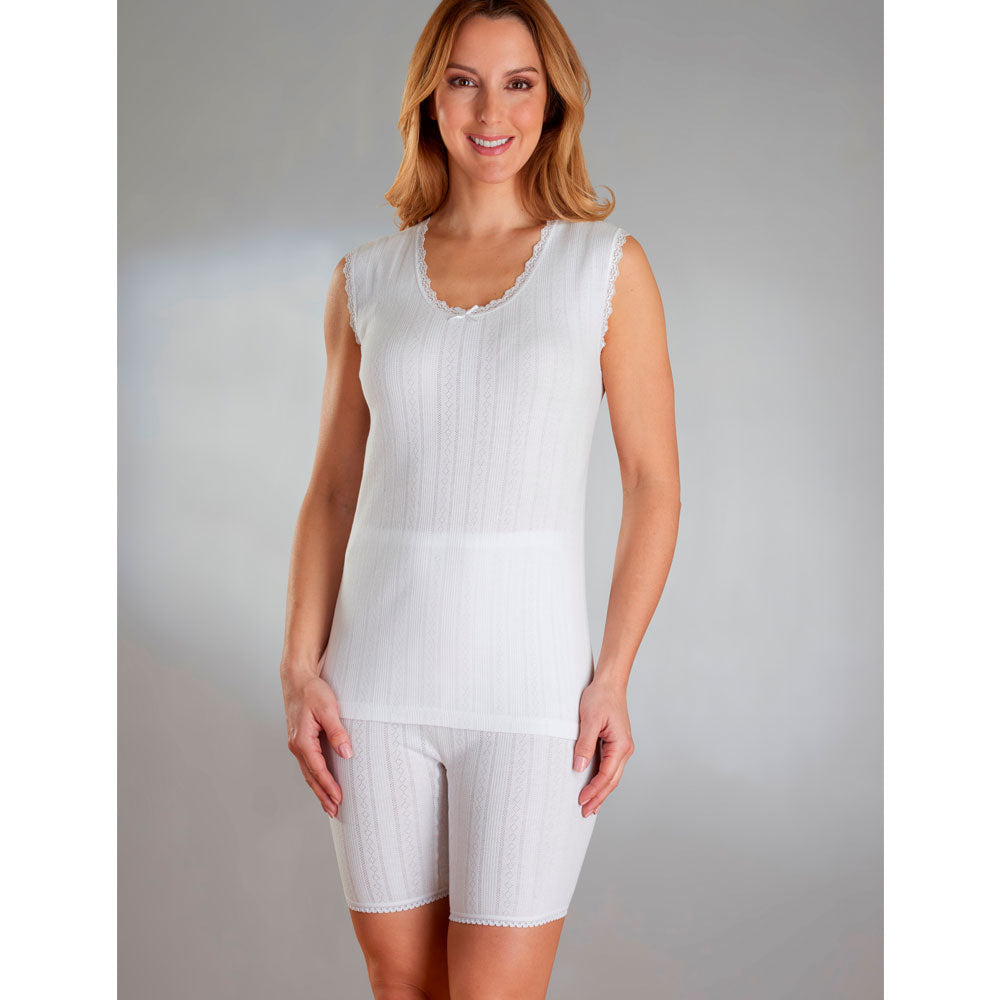 Cotton No Sleeve Camisole