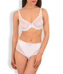 Playtex Flower Lace Underwired Bra  (PL5832W/P)