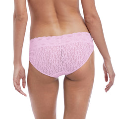 Halo Lace Brief in Sweet Pink