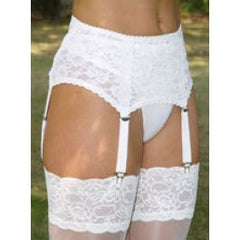 Hook and Eye Suspender Belt