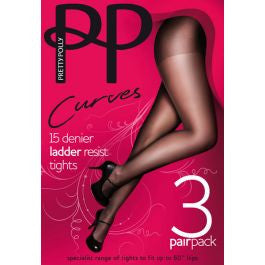 Pretty Polly XXtra Ladder Resist Tights (H33)