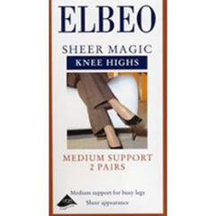 Sheer Magic Knee Highs 2 Pk