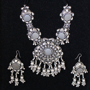 buy FairyBellsKart Oxidised Jewellery set FBK2017104 online at FairyBells Kart