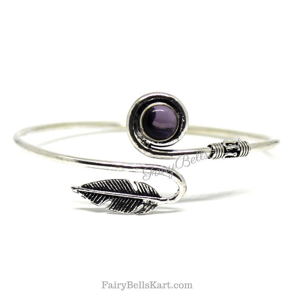 FairyBells Kart Oxidised Bangle Bracelet Kada FBK2018497 by FairyBells Kart