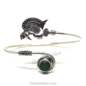 FairyBells Kart Oxidised Bangle Bracelet Kada FBK2018504 by FairyBells Kart