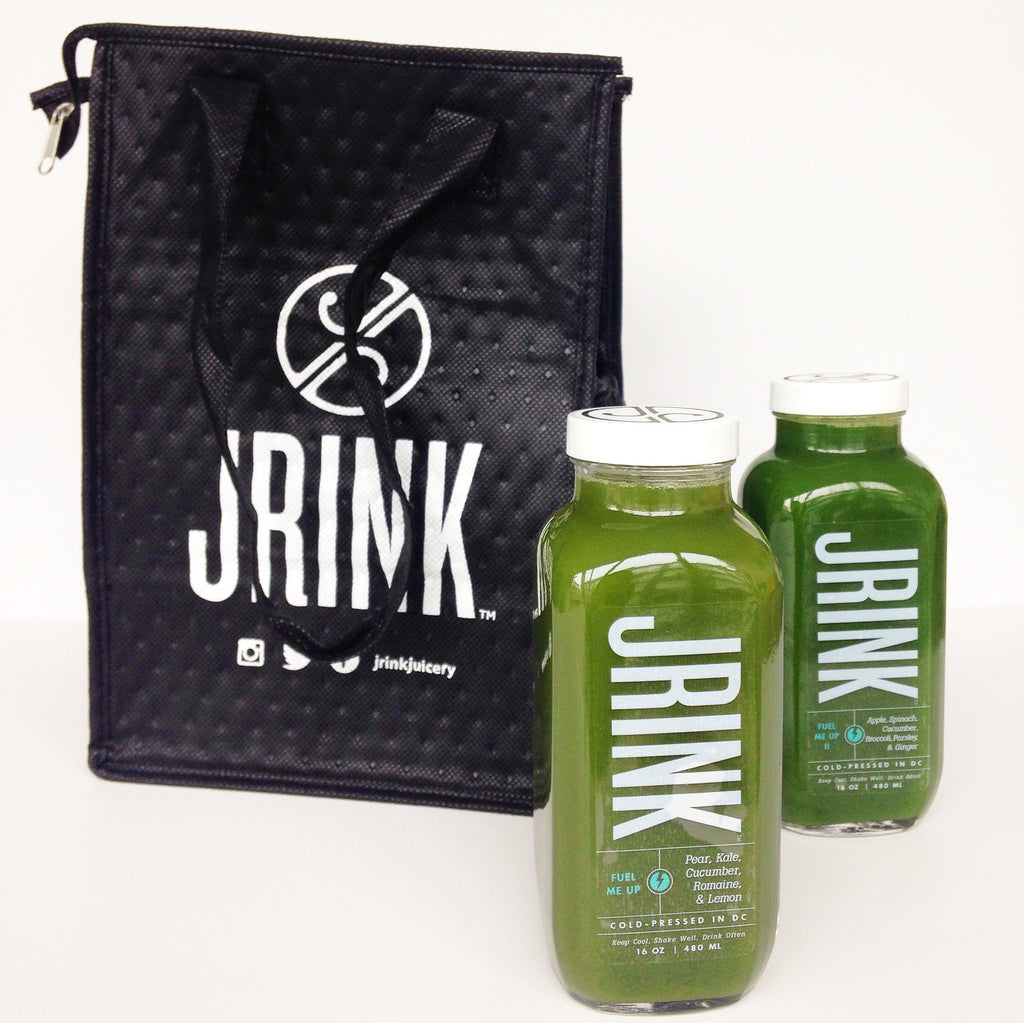 RECYCLABLE TOTE BAG - DC JUICE BAR