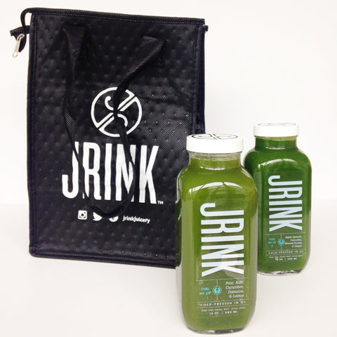 Recyclable Tote Bag - JRINK, Washington DC, Virginia and Maryland Cold-Pressed Juice Bar, Catering & 3-Day Cleanse Delivery.