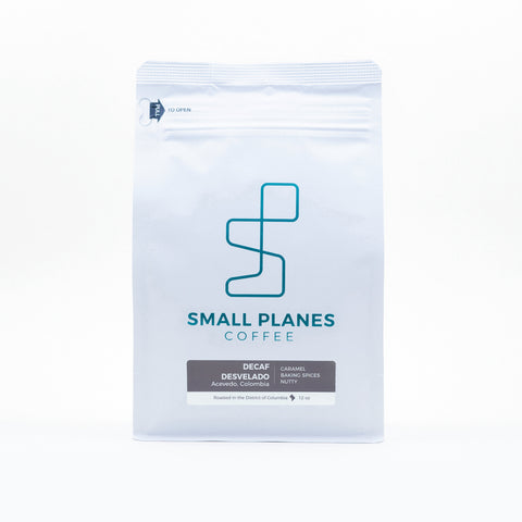 Small Planes Coffee- Decaf Desvelato