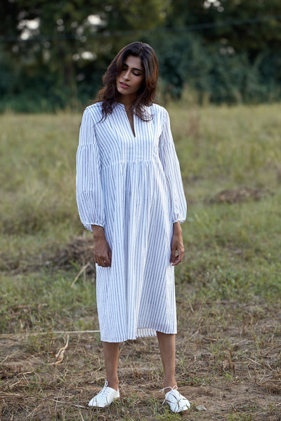 Dhara Dress - Stripe