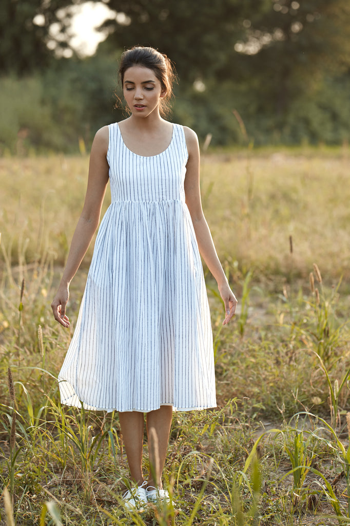 Bahar Dress - Stripe